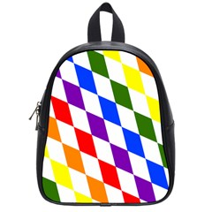 Rainbow Flag Bavaria School Bags (small)