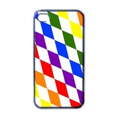 Rainbow Flag Bavaria Apple iPhone 4 Case (Black)