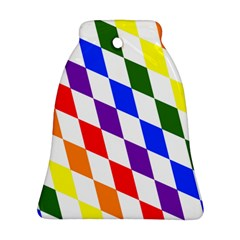 Rainbow Flag Bavaria Bell Ornament (two Sides)