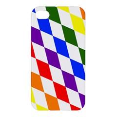 Rainbow Flag Bavaria Apple iPhone 4/4S Hardshell Case