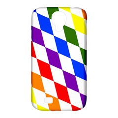 Rainbow Flag Bavaria Samsung Galaxy S4 Classic Hardshell Case (pc+silicone)