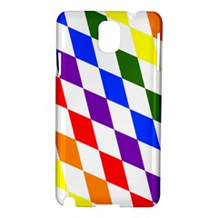 Rainbow Flag Bavaria Samsung Galaxy Note 3 N9005 Hardshell Case