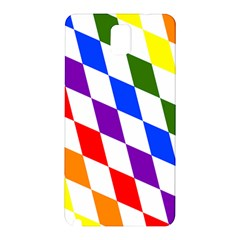 Rainbow Flag Bavaria Samsung Galaxy Note 3 N9005 Hardshell Back Case