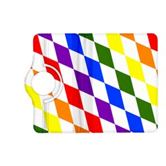 Rainbow Flag Bavaria Kindle Fire Hd (2013) Flip 360 Case
