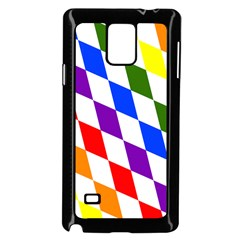 Rainbow Flag Bavaria Samsung Galaxy Note 4 Case (Black)