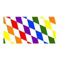 Rainbow Flag Bavaria Satin Wrap