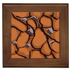 Seamless Dirt Texture Framed Tiles