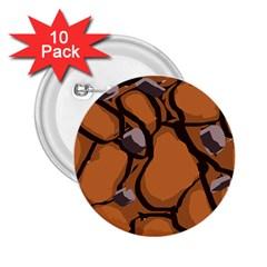 Seamless Dirt Texture 2 25  Buttons (10 Pack)