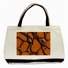 Seamless Dirt Texture Basic Tote Bag