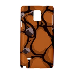 Seamless Dirt Texture Samsung Galaxy Note 4 Hardshell Case