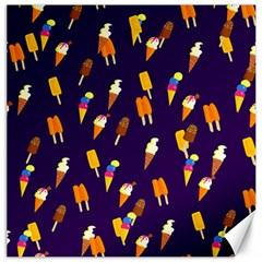 Seamless Ice Cream Pattern Canvas 16  X 16