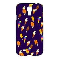 Seamless Ice Cream Pattern Samsung Galaxy S4 I9500/i9505 Hardshell Case