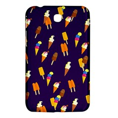 Seamless Ice Cream Pattern Samsung Galaxy Tab 3 (7 ) P3200 Hardshell Case