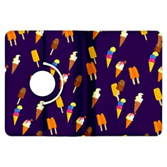 Seamless Ice Cream Pattern Kindle Fire Hdx Flip 360 Case
