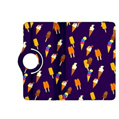 Seamless Ice Cream Pattern Kindle Fire Hdx 8 9  Flip 360 Case