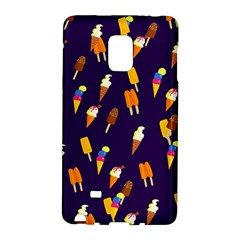 Seamless Ice Cream Pattern Galaxy Note Edge
