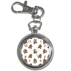 Gingerbread Seamless Pattern Key Chain Watches