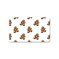 Gingerbread Seamless Pattern Magnet (name Card)