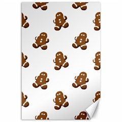 Gingerbread Seamless Pattern Canvas 24  x 36