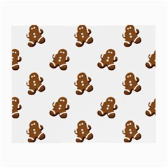 Gingerbread Seamless Pattern Small Glasses Cloth (2 Side)