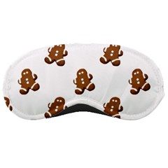 Gingerbread Seamless Pattern Sleeping Masks