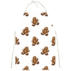 Gingerbread Seamless Pattern Full Print Aprons