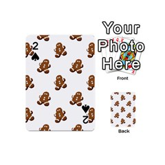 Gingerbread Seamless Pattern Playing Cards 54 (mini)