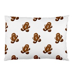 Gingerbread Seamless Pattern Pillow Case (two Sides)