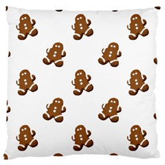 Gingerbread Seamless Pattern Large Cushion Case (one Side)