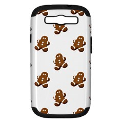 Gingerbread Seamless Pattern Samsung Galaxy S Iii Hardshell Case (pc+silicone)