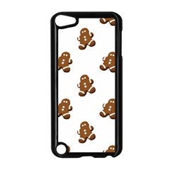 Gingerbread Seamless Pattern Apple Ipod Touch 5 Case (black)