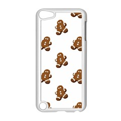 Gingerbread Seamless Pattern Apple Ipod Touch 5 Case (white)