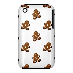 Gingerbread Seamless Pattern Iphone 3s/3gs
