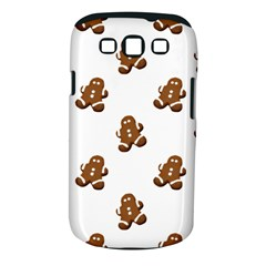 Gingerbread Seamless Pattern Samsung Galaxy S III Classic Hardshell Case (PC+Silicone)