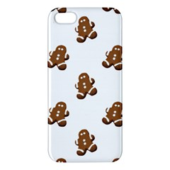 Gingerbread Seamless Pattern Apple Iphone 5 Premium Hardshell Case