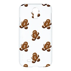 Gingerbread Seamless Pattern Samsung Galaxy S4 I9500/I9505 Hardshell Case