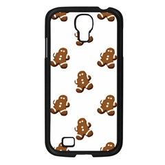 Gingerbread Seamless Pattern Samsung Galaxy S4 I9500/ I9505 Case (black)