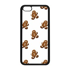 Gingerbread Seamless Pattern Apple Iphone 5c Seamless Case (black)