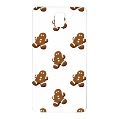 Gingerbread Seamless Pattern Samsung Galaxy Note 3 N9005 Hardshell Back Case