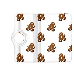 Gingerbread Seamless Pattern Kindle Fire Hdx 8 9  Flip 360 Case