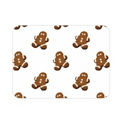 Gingerbread Seamless Pattern Double Sided Flano Blanket (mini)
