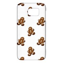 Gingerbread Seamless Pattern Galaxy S6
