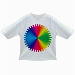 Rainbow Seal Re Imagined Infant/toddler T Shirts
