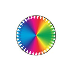 Rainbow Seal Re Imagined Hat Clip Ball Marker (10 Pack)