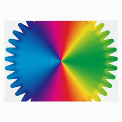 Rainbow Seal Re Imagined Large Glasses Cloth (2 Side)