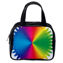 Rainbow Seal Re Imagined Classic Handbags (One Side)