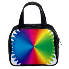 Rainbow Seal Re Imagined Classic Handbags (2 Sides)