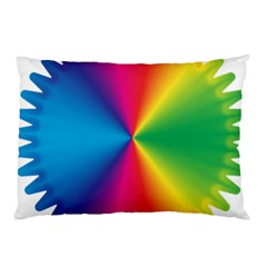 Rainbow Seal Re Imagined Pillow Case