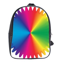 Rainbow Seal Re Imagined School Bags(large)