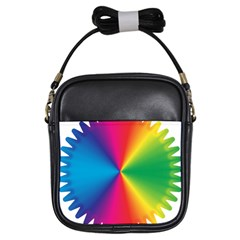 Rainbow Seal Re Imagined Girls Sling Bags